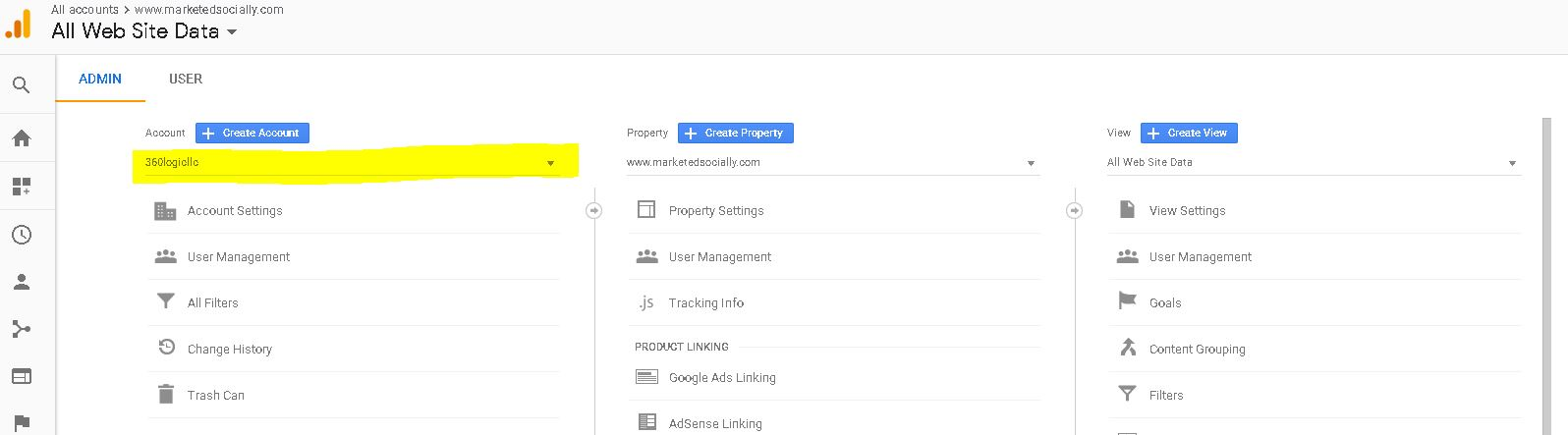 How to add a new website to Google Analytics