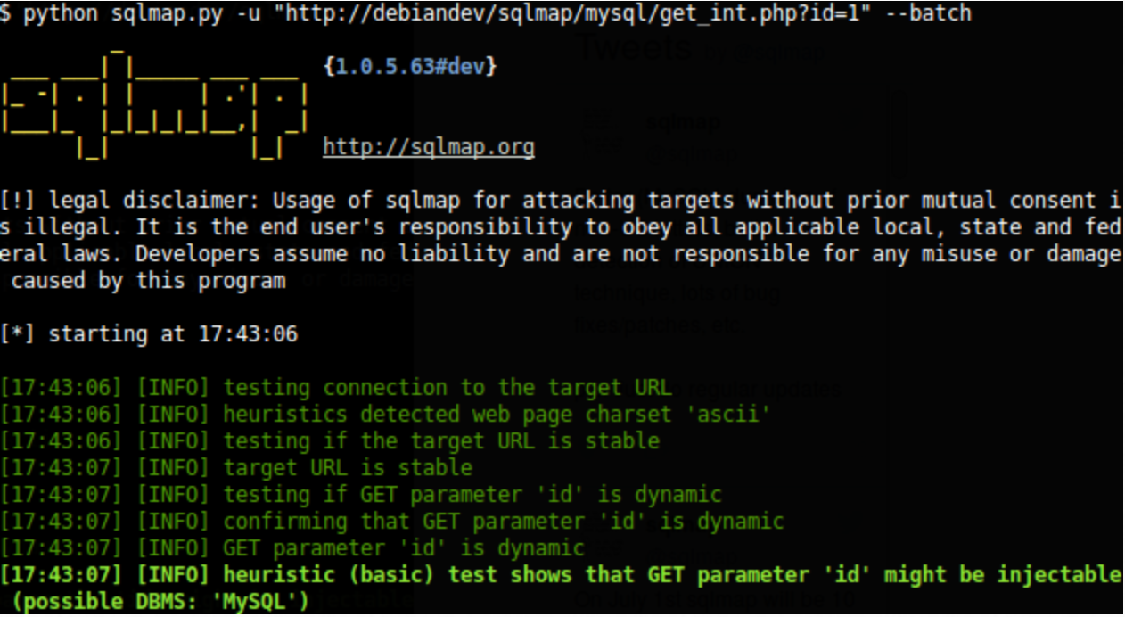 SQLMAP, Penetration Testing, Software, Open Source, Web Applicaiton